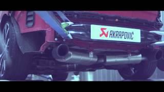 Video: Werbevideo für die Akrapovic Komplettanlage des VW Golf 7 GTI