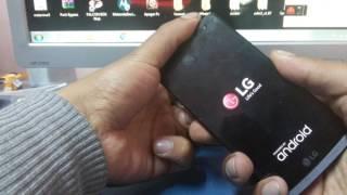 LG Risio H343 - Factory Reset - Hard Reset