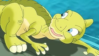 The Land Before Time   The Great Log Running Game   HD   Videos For Kids   Kids Movies