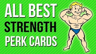 Fallout 76 Builds - Best STRENGTH Perk Cards to use!