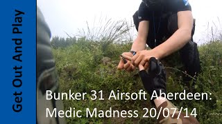 preview picture of video 'Bunker 31 Airsoft Aberdeen: Medic Madness 20/07/14'