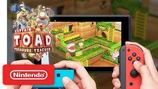 Captain Toad Treasure Tracker - Co-op Trailer - Nintendo Switch