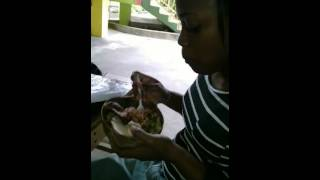 Eating From A Calabash