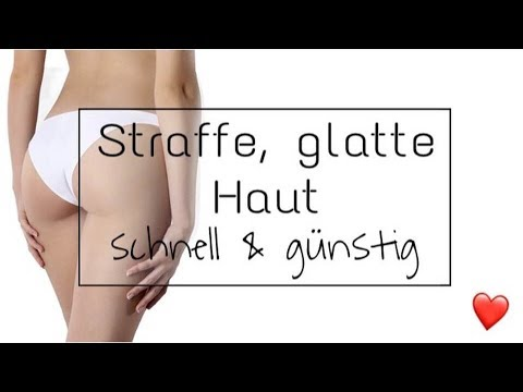 Straffe Haut schnell & günstig + Selbsttest 😍 | Mellitheunicorn