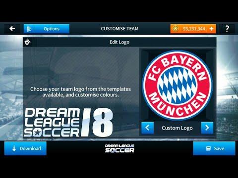 Create Bayern Munich Kits & Logo ☆ Dream League Soccer 2018