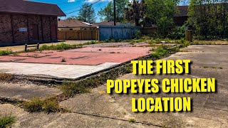 The First Popeyes Chicken Location and the History of Popeyes