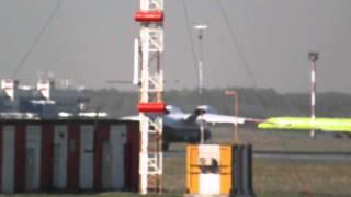 Ан-74 взлетает из Толмачёво