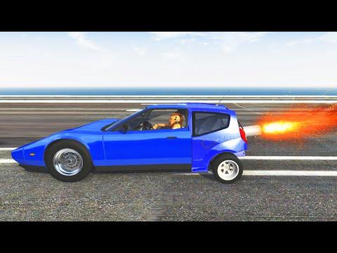 BeamNG Drive - Furious Race Crashes #1