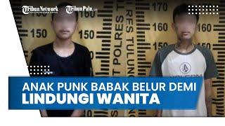 Anak Punk di Tulungagung Babak Belur demi Lindungi Teman Wanita yang akan Dicabuli Sesama Anak Punk