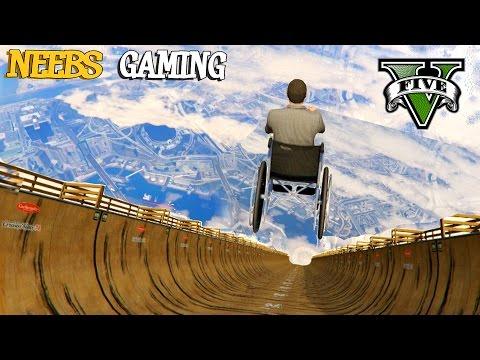 MEGA RAMP - Funny Vehicles Mod - GTA 5 Gameplay Video