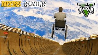 MEGA RAMP - Funny Vehicles Mod - GTA 5 Gameplay Video