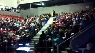 St Helens Silent Night - Laughter Erupts