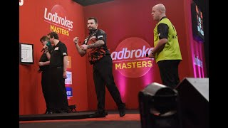 """Jonny Clayton on second Masters win over MVG: """"I could see Michael shaking his head early on"""""""