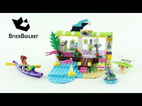 Vidéo LEGO Friends 41315 : Le magasin de plage