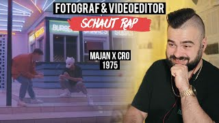 MAJAN X CRO   1975  FOTOGRAF & VIDEOEDITOR SCHAUT RAP  LIVE REACTION