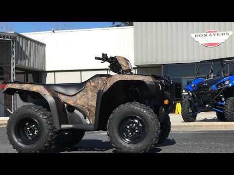 2021 Honda FourTrax Foreman 4x4 EPS in Greenville, North Carolina - Video 1