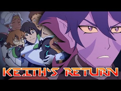 KEITH'S RETURN TO TEAM VOLTRON - Why He'll Come Back | Voltron: Legendary Defender Theory