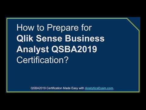 [Updated] Qlik Sense Business Analyst (QSBA2019) Certification ...