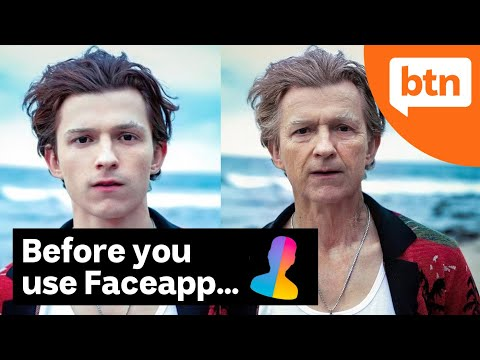 What You Should Know Before Using FaceApp - Today's Biggest News (видео)