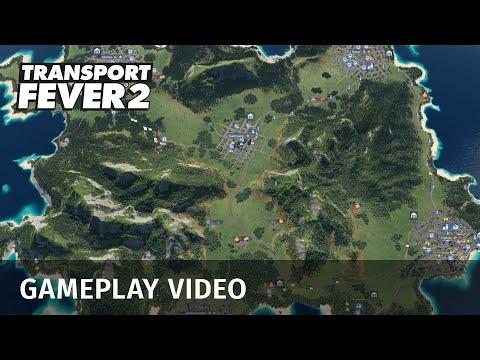 Gameplay de Transport Fever 2