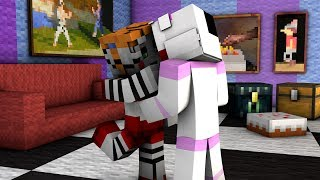 Minecraft Fnaf: Sister Location - Funtime Freddy Kisses Circus Baby (Minecraft Roleplay)