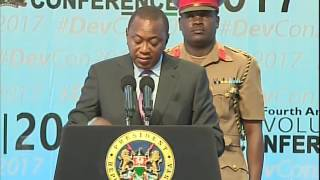 President Uhuru Kenyatta's full speech during the 2017 Devolution Conference in Naivasha