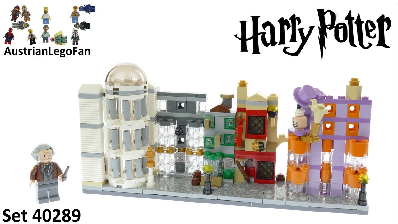 Lego Harry Potter 40289 Diagon Alley - Lego Speed Build Review