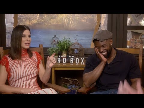 """Sandra Bullock thought she was going to have a """"nervous breakdown"""" after ROMA - Bird Box interview"""