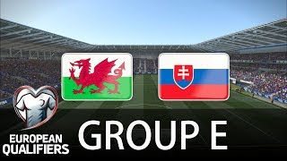 Wales Vs Slovakia - Cardiff City Stadium - European Qualifiers - PES 2019