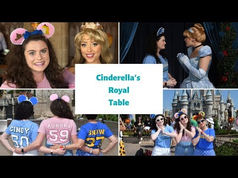 A MAGICAL MORNING IN THE MAGIC KINGDOM & A TRIP TO CINDERELLA'S ROYAL TABLE
