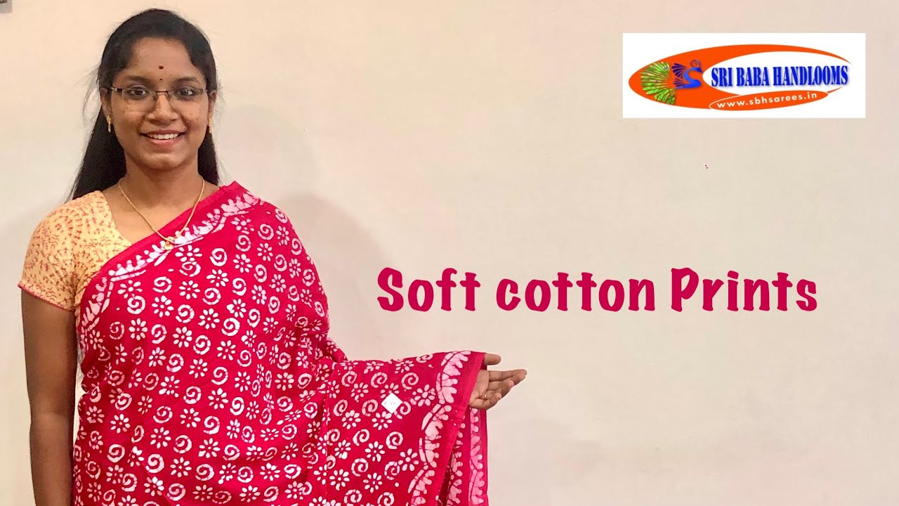 """<p style=""""color: red"""">Video : </p>Mul Mul Soft Cottons