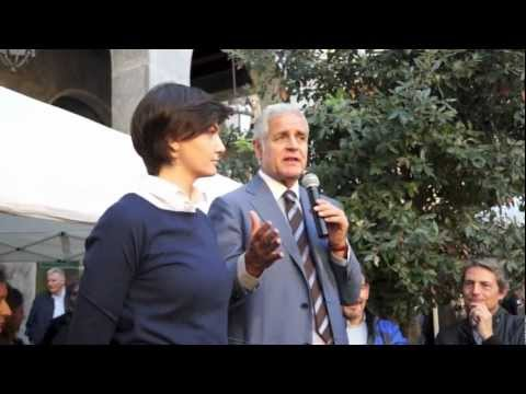 Formigoni a Varese tra contestazioni ed applausi