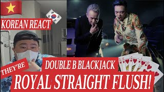 [EXCLUSIVE]🇻🇳🇰🇷🔥Korean Hiphop Junkie react to SOOBIN & BINZ(DOUBLE B) - BlackJack ft. GOKU (VNM/ENG)