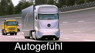 Mercedes Future Truck 2025 autonomously driving truck premiere - Autogefühl