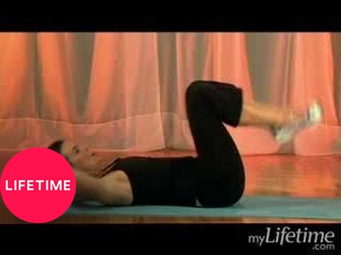 Lower Belly Workout: Double Crunch (Exercise 1) | Lifetime
