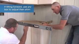 Base Cabinet Installation