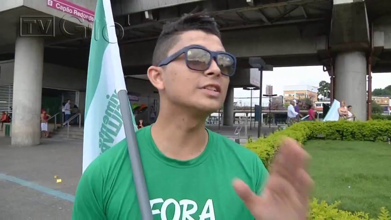 TV Giro 1 acompanha liderança do Movimento Brasil Livre