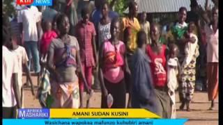 Amani Sudan Kusini : Wasichana wapokea mafunzo kuhubiri amani