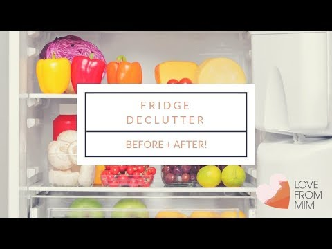 Decluttering + Cleaning my Fridge   lovefrommim.com