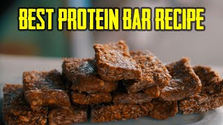 James Buff In Best Homemade No-Bake PROTEIN BARS Recipe