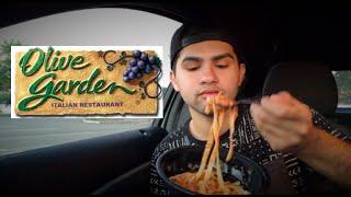 ME EATING OLIVE GARDEN MUKBANG - Video Youtube