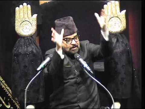 """Maulana Abid Bilgrami - Majlis9 (Part1) - Ashra Zainabiya 1436 - """"Labbaik Ya Mahdi"""""""