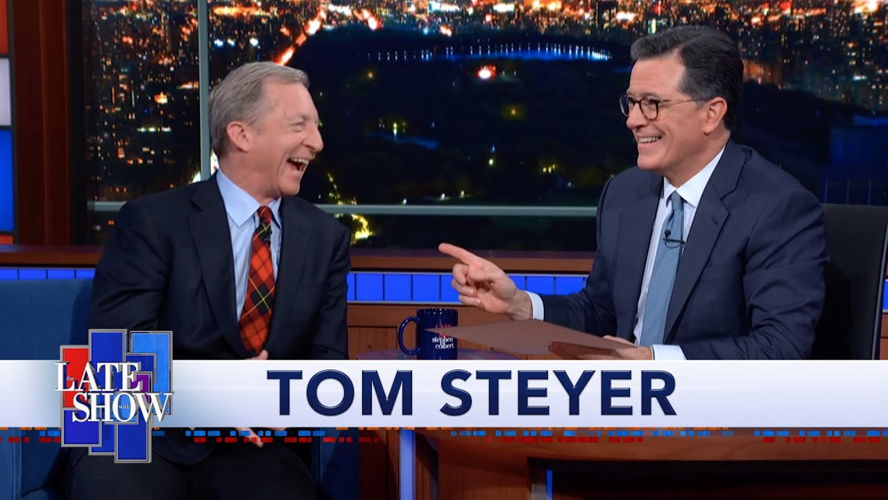 Tom Steyer Has Worn A Red Plaid Tie Every Day For 25 Years thumbnail