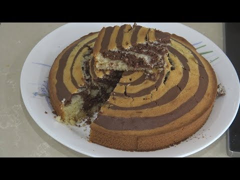""" ZEBRA CAKE "" Bajias Cooking"