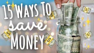 15 Easy Ways To Save Money As A Teen! | SimplyMaci
