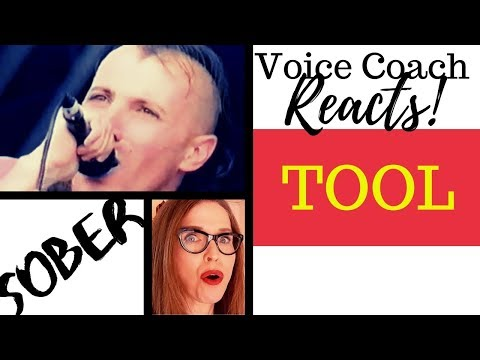 """Voice Coach Reacts to TOOL - """"Sober"""" LIVE - First Time Hearing"""
