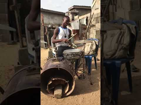 I don't know how this kid made a pile of junk sound so good, but it does!