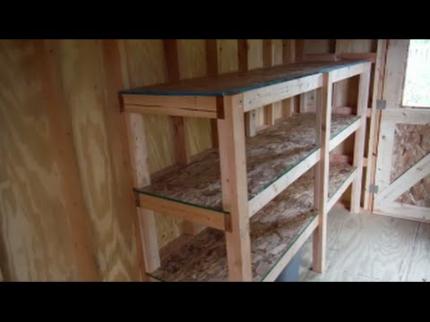 How to Build Easy and Strong Storage Shelves
