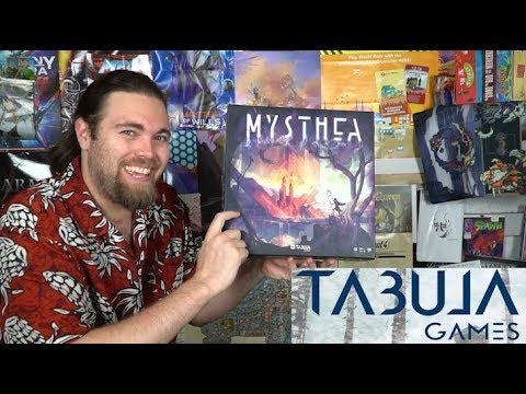 Mysthea - Kickstarter Board Game Review by Unfiltered Gamer