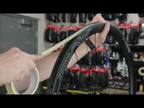 Road Tape Install